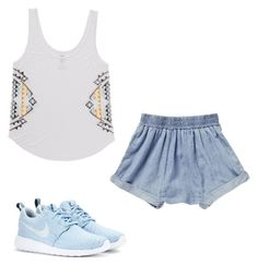 """""""M"""" by butnotperfect ❤ liked on Polyvore featuring NIKE and Billabong"""