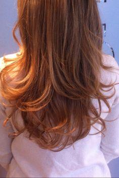 #hair #hairstyles - long bouncy blow dry