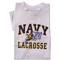 Naval Academy Youth NAVY Lacrosse T-Shirt