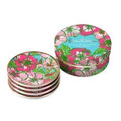 Lilly Pulitzer | Ceramic Coaster Set