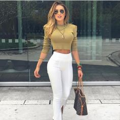 Swans Style is the top online fashion store for women. Chic Outfits, Trendy Outfits, Summer Outfits, Fashion Outfits, Womens Fashion, Fashion Ideas, Looks Chic, Casual Looks, Mode Style