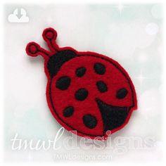 Ladybug Feltie