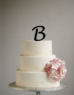 Got this (an M of course) simple, black, monogram :) it will go perfect with Beth's amazing cupcakes!!!