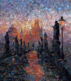 мозаика Волшебный Карлов мост