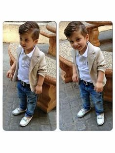 3pcs Kids Baby Boy Gentleman Coat+Shirt+Jeans Pants Trousers Clothes Outfits Set #Unbranded #Everyday
