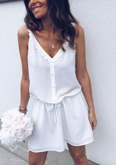 Robe Soly blanche