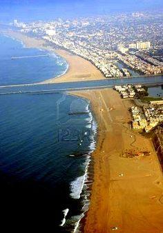Los Angeles California Beaches - Marina Del Ray