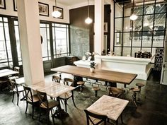 L'Usine in Ho Chi Minh City - Housed in a 1890s building that was once the Hotel de Saigon, this space is now a stylish café, shop, and gallery in the heart of District 1 on Dong Khoi Street. Come for lunch, coffee, and cakes before picking up one-of-a-kind pieces for your home or clothing from emerging Vietnamese designers. 10 Reasons to Visit Ho Chi Minh City, Vietnam, Now - Condé Nast Traveler