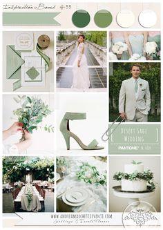 PANTONE Color Report Fall 2015 Desert Sage Wedding