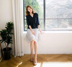 Chân váy xếp ly Hàn Quốc bay bổng quyến rũ đón hè 2016