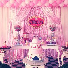 Circo rosa!!!
