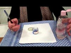 ▶ Porcelain Painting -Chris Ryder Shows how she mixes paint for her palette! - YouTube