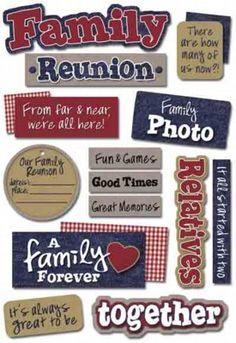 family reunion favors | Family Reunion