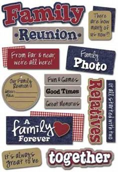 family reunion favors | Family Reunion