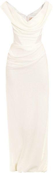 Cocotte Georgette Drape Dress