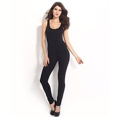 Women's with Yellow Straps Bare Black Jumpsuit 2015 – $17.99