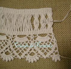 Trendy crochet edging and borders ideas english ideas Freeform Crochet, Crochet Art, Thread Crochet, Love Crochet, Filet Crochet, Irish Crochet, Crochet Motif, Beautiful Crochet, Crochet Stitches