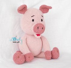 This is crochet pattern and NOT the finished piggy toy. Crochet pattern can be downloaded immediately from Etsy, once payment is confirmed.