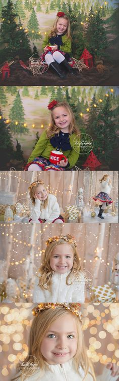 A sneak peek of R's Holiday portraits in the studio! | Heidi Hope Photography
