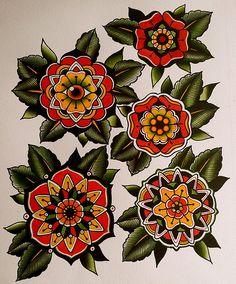 Mandala flowers - I'm really digging the evil eye one Flower Mandala Tattoo, Tattoo Ideas, Flower Eye Tattoo, Tattoo Flash, Art, Tattoo Evil Eye, Flash Flower Tattoo, Eye Flower Tattoo, Mandala Flower Tattoos
