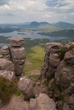 Looking over to Suilven from Stac Pollaidh