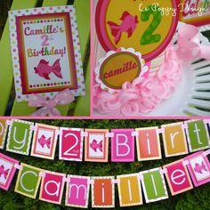 Girly Fish Birthday Party Ideas