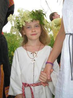 beautiful little Russian girl