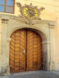 Porta em  Praga door