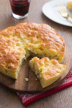 Torta salata di finocchi: una ghiotta ricetta svuotafrigo realizzata con finocchi gratinati. Perfetta come antipasto o salvacena! [Fennel quiche]