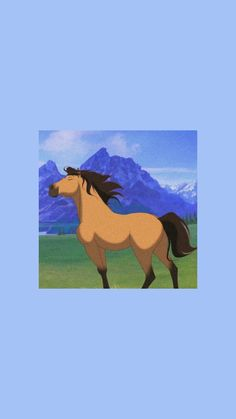 Spirit Horse Movie, Spirit The Horse, Spirit And Rain, Future Wallpaper, Horse Wallpaper, Disney Phone Wallpaper, Cartoon Wallpaper, Horse Drawings, Cute Drawings