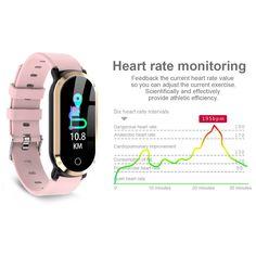 T1 Smart Bracelet gold Online Shopping | Tomtop Smartwatch, Apple Technology, Ios 8, Smart Bracelet, Heart Rate Monitor, Charging Cable, Watch Bands, Bracelets, Online Shopping