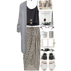 Write to me by vv0lf on Polyvore featuring Paisie, H&M, Thakoon, L'Occitane, Aesop and Louis Vuitton