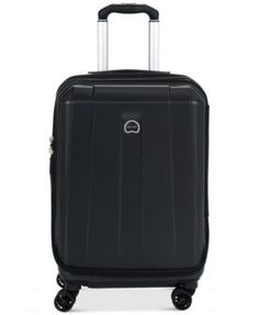 """CLOSEOUT! Delsey Helium Shadow 3.0 Hardside 19"""" International Carry On Spinner Suitcase, In Blue, a Macy's Exclusive Color"""