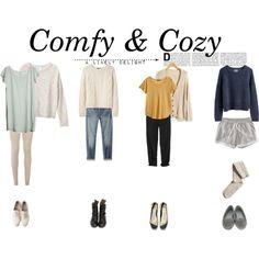 Comfy & Cozy by momentarily, via Polyvore