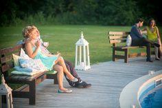 My outdoor summer wedding. Pillows.