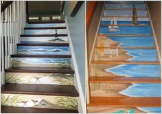 If you think that murals are only for the walls then you might be missing so many different ways in which you can liven up your home with murals along with