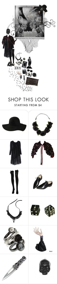 """""""after life"""" by unapersonacomun ❤ liked on Polyvore featuring Dollhouse, Yves Saint Laurent, CO, Retrò, AllSaints and Hooker Furniture"""