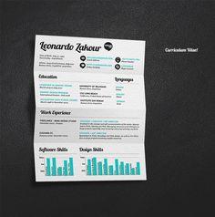 see more outstanding resume designs at http://dzineblog.com/2011/09/35-brilliant-resume-designs.html