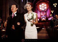apertura erwin wedding ceremony first congregational church los angeles photo 09 Coolness: Caroline + Stan Wedding