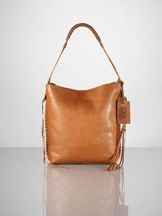 050d0f10993f Vachetta Braided Hobo - Ralph Lauren Ralph Lauren Handbags - RalphLauren.com.  Malena Brown