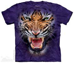 PRIKID - Growling Big Face Tiger T-Shirt, €37.00 (http://prikid.eu/growling-big-face-tiger-t-shirt/)