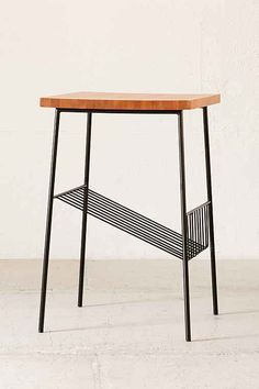 Sebastian side table by Urban Outfiters: a perfect size for hallway