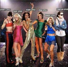 Spice Girls... Pumpkin Spice, lolololol :D :D :D