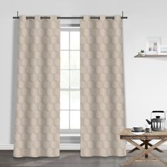 You'll love the Pamela Jacquard Grommet Curtain Panels at Wayfair - Great Deals on all Décor & Pillows products with Free Shipping on most stuff, even the big stuff.