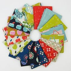Picnic Fat Quarter Bundle by Melody Miller of Cotton + Steel