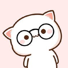 Cute Bear Drawings, Cute Cat Drawing, Cute Cartoon Drawings, Kawaii Drawings, Chibi Cat, Cute Chibi, Stickers Kawaii, Cute Stickers, Cute Cartoon Images