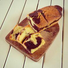 Marble Cake (coconut & chocolate) - torta marmorizzata (cocco & cioccolato)
