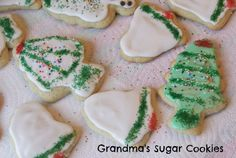 Christmas Sugar Cookie Recipe | Detroit Mommy Bloggers