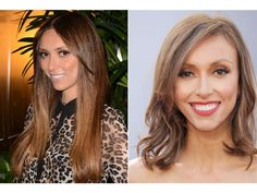 13 Celebrity Hair Switch-Ups to Try Now: Giuliana Rancic's textured bob