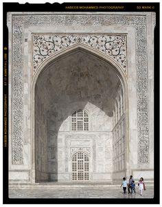 Facade of Taj Mahal